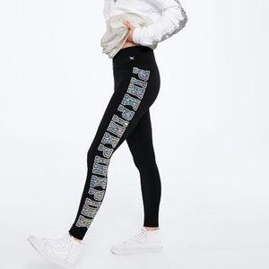 S NWT VS PINK Cotton Logo Legging